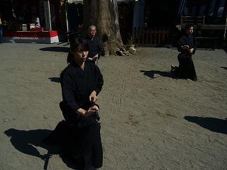 090920八坂神社天然理心流演武04