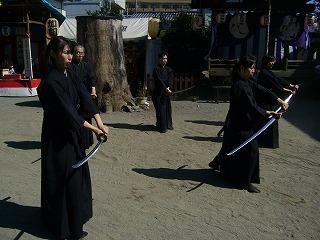 090920八坂神社天然理心流演武06