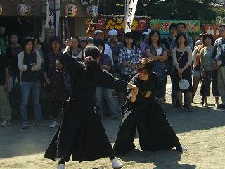 090920八坂神社天然理心流演武07
