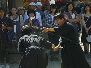 090920八坂神社天然理心流演武08
