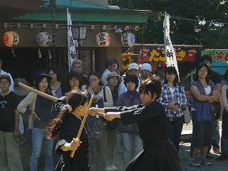 090920八坂神社天然理心流演武09