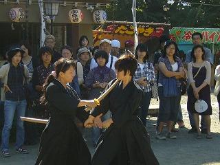 090920八坂神社天然理心流演武10