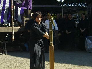 090920八坂神社天然理心流演武14