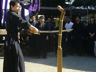 090920八坂神社天然理心流演武15