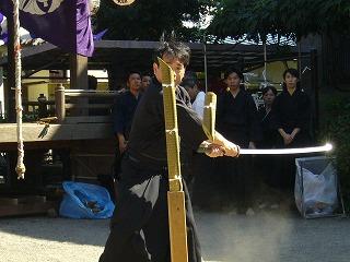 090920八坂神社天然理心流演武16