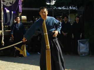 090920八坂神社天然理心流演武17