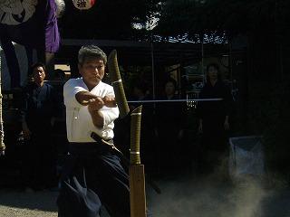 090920八坂神社天然理心流演武18