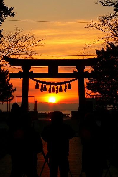 日の出 写真 高知久礼湾 11/02/10