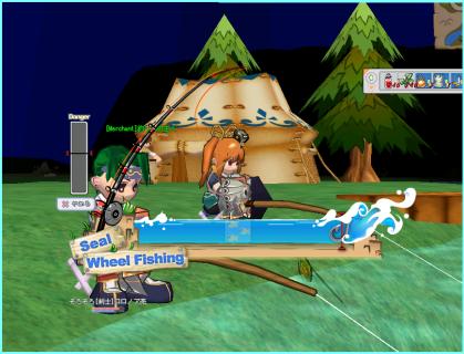 ロロさん、釣りにはまる。