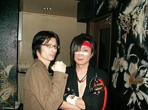 忍君と2008/12/14Club aisa,BackStage