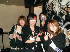 愛しのアズナー(笑)、俺、Daiki、軍服・海賊・マリリンマンソン好きのMizukiちゃん
