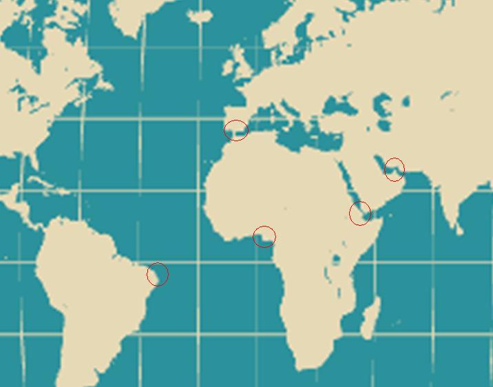 大陸をつなぐ岬