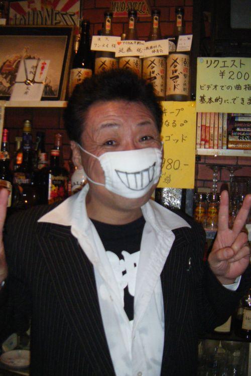 風邪マスクとアラ40 002