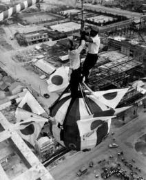 テレビ塔完成