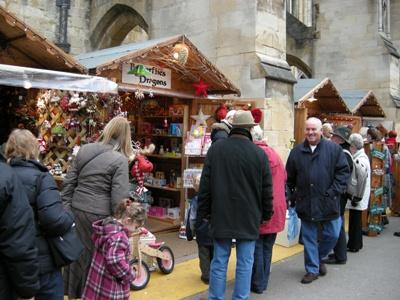 クリスマスマーケットお店