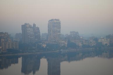 カイロの朝
