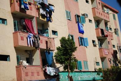 エジプト アパート