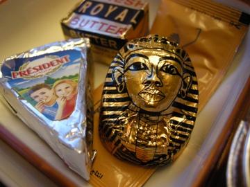 エジプト航空 チョコ