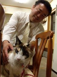 沼二郎さんとメリさん