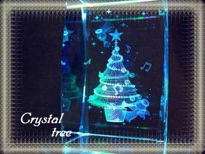 クリスタルツリー