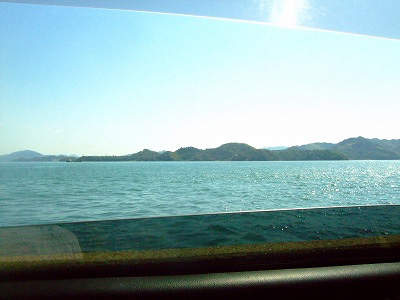 見えたのは海~