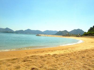 きれいな砂浜☆