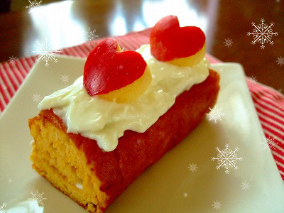 ワンコ用ロールケーキ☆