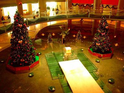 ホテルもクリスマス~♪