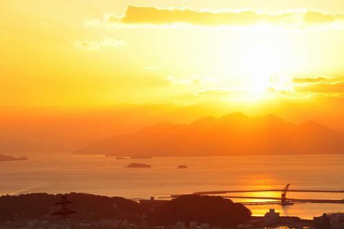 キレイな夕日~