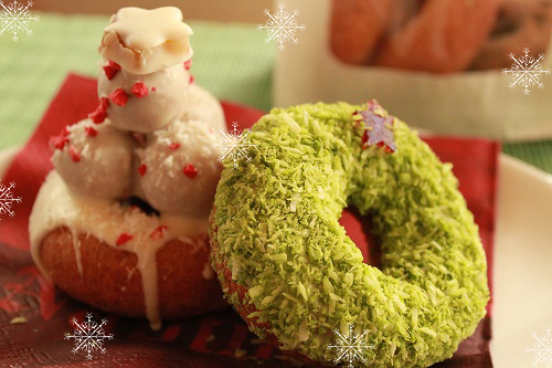 クリスマスツリーにリース☆