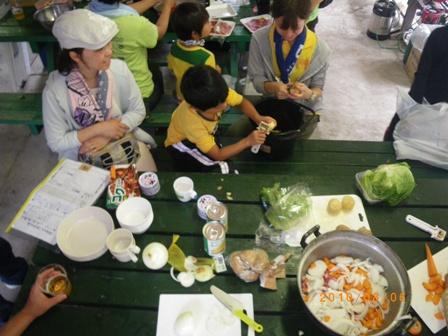 学童キャンプ2010 149