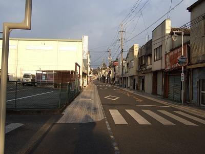 s-夕方の中央通り