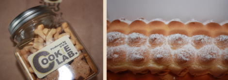 犬用クッキー&人用ロールケーキ