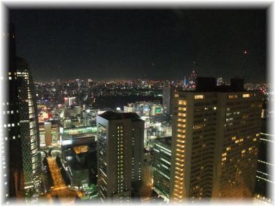 住友ビル47階からの夜景