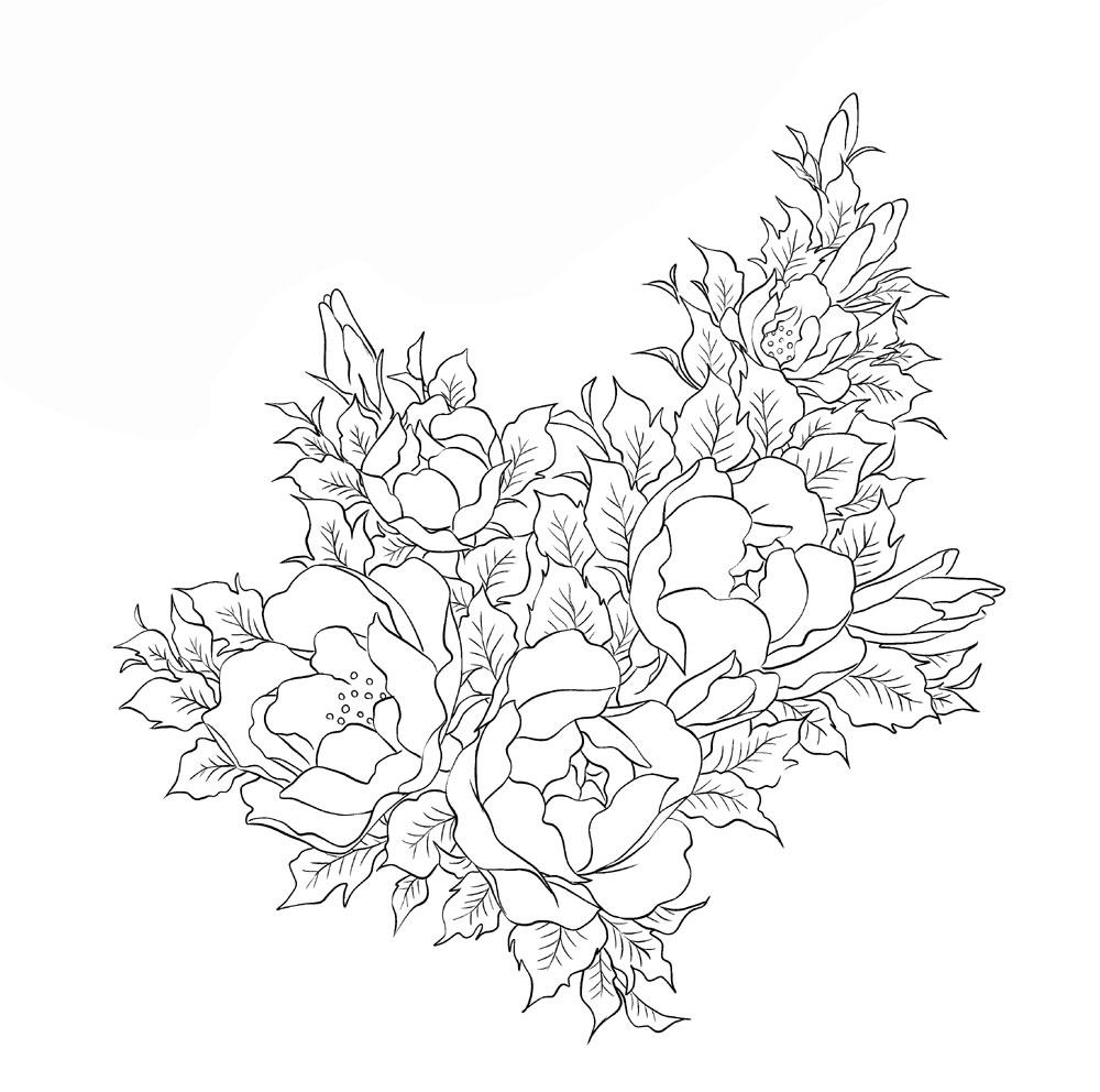 手描き葉大2