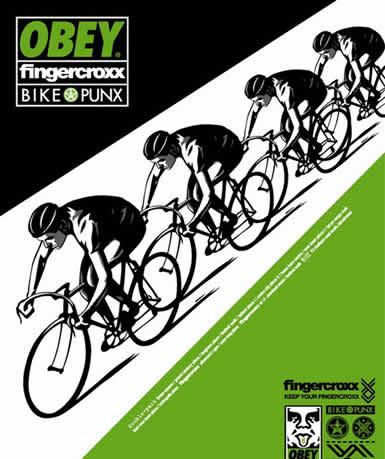 obey trackポスター