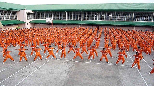 セブ島の刑務所ダンス
