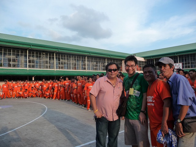 セブ島の刑務所ダンスの仕掛け人、バイロン・ガルシアさん