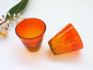 琉球ガラス,うず潮グラス