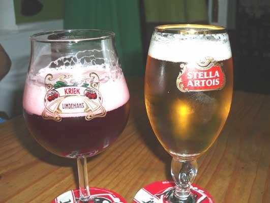 ちょんまげの時のビール