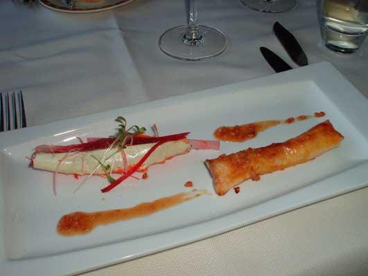 イノシシ亭の魚料理