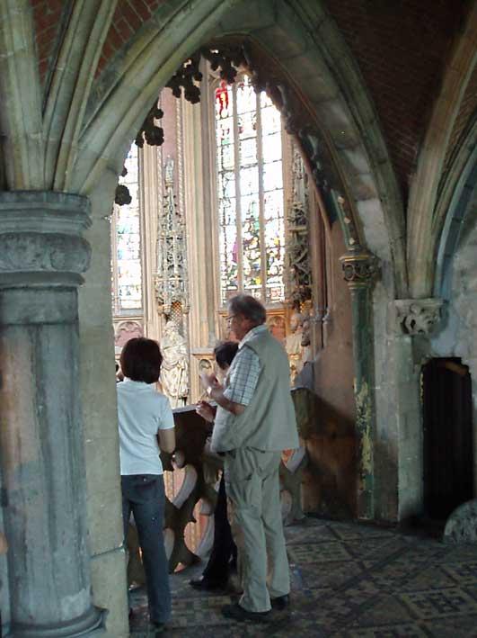 聖ジャック教会のボランティ