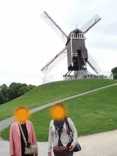 ブルージュの風車