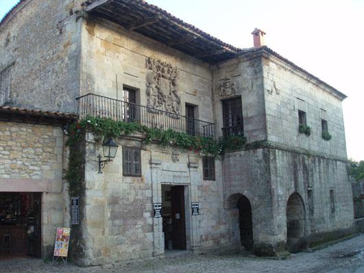サンティリャーナの貴族の館