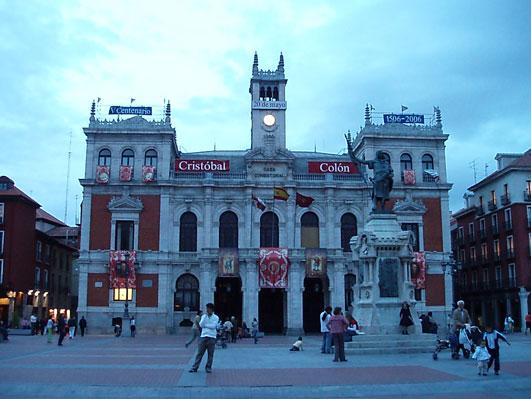 バヤドリッドの中央広場