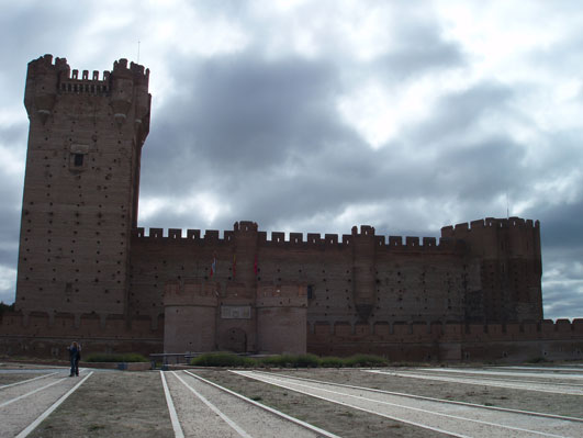 メディエ・デル・カンポのお城