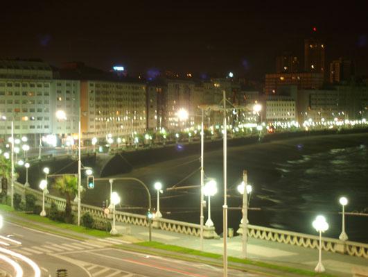 マリア・ピタからの夜景