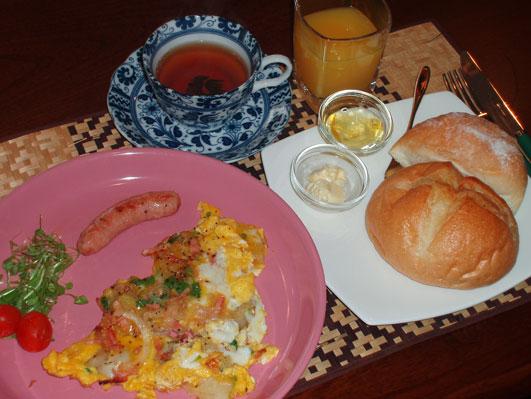 農夫の朝食