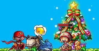 クリスマスチェア