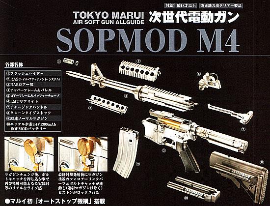 SOPMOD M4A1バッテリー&充電器セット